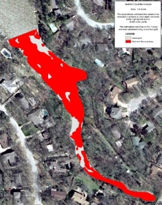 Dredging Map for Cove