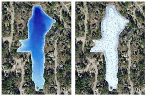 Bathymetric Lake Map