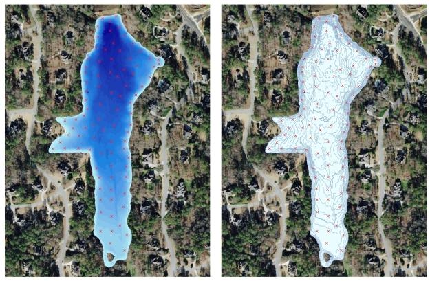 GPS Lake Map