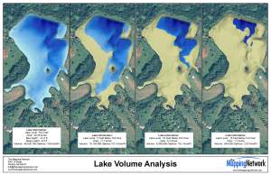 "The Mapping Network offers a highly accurate ""Volume Analysis"" option for lakes."