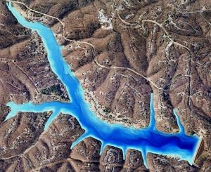 3D Lake Map